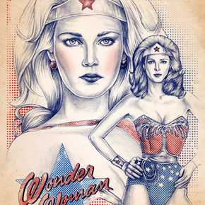 Wonder Woman Photo Album by Chronicle Books Staff (2005)