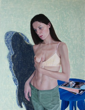 Contrary Mary 26 x 34 inches